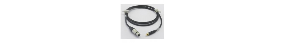 XLR3 female / Cinch male