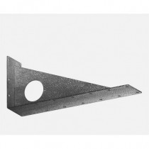 Wall bracket for 3 rails