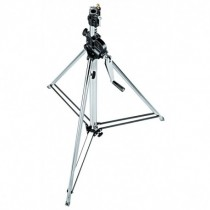 Steel 2-section wind up stand 139/247cm