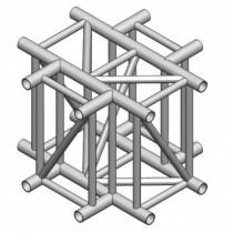 Angle 4 Départs À Plat 90° Lg De 0M71X0M71