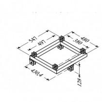 Adaptateur Pied Acier Pour Angle 4D St 500