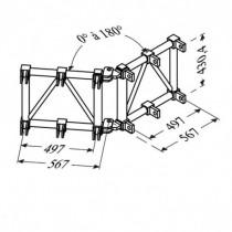 Angle Variable : Tubes De Blocage D'Ouverture Fournis St 500