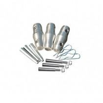Kit De Jonction Pour Structure Sx 290 3 Goupilles M8 + 3 Goupilles Coniques  + 3
