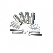 Kit De Jonction Pour Structure Sz 290 4 Goupilles M8 + 4 Standard