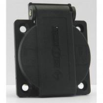 Embase Femelle NF 16A noire IP54 16A