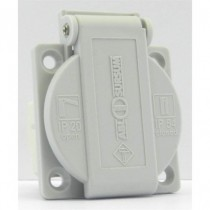 Embase Femelle NF 16A grise IP54 16A