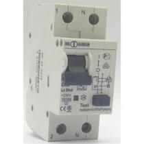 Disjoncteur PH/N 32A 30mA Type A courbe C - Icc 6kA (EN60898)