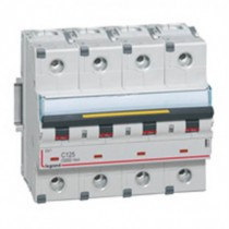 Disjoncteur 4X125A courbe C - Icc 10kA (EN60898)