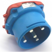 Connecteur mâle DS6 3P+N+T 63A