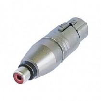 Adaptateur  XLR3F/cinch femelle   NA2FPMF