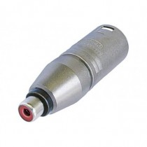 Adaptateur  XLR3M/cinch femelle    NA2MPMF