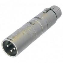 Adaptateur  XLR3M/XLR5F NA3M5F