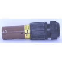 Fiche  source  femelle  600A marron 240mm_