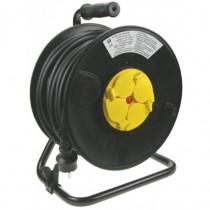 Enrouleur 40m H07RNF 4PC 2P+T 16A disjoncteur thermique