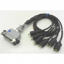 Epanoui 6 circuits H24F2L / NF mâle