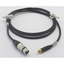 Câble modulation XLR3F/Cinch mâle 1m