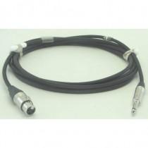Câble modulation  XLR3F/NP2X 1m