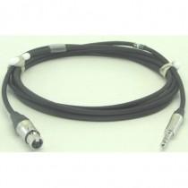 Câble modulation XLR3F/NP3X 1m