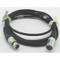 Câble micro XLR3M/F 2m