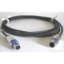 Câble HP4x2.5 NLT4FX/NL4TMX 10m