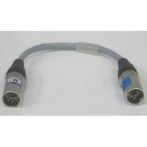 Adaptateur DMX XLR5M/XLR5M 25cm