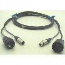 DMX POWER NF + XLR5 1m