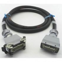 Câble 8 cicuits H16M2L/H16F4P 5m
