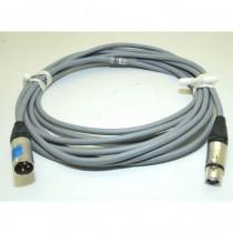 Câble DMX512 XLR3 1m