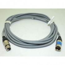 Câble DMX512 GRIS  XLR5 1m