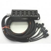 Boitier épanoui 6 Circuits  NF 15m