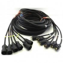 Cable Epanoui/Epanoui 6 circuits 13G2.5 LEG/LEG 5m