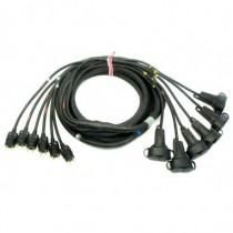 Cable Epanoui/Epanoui 6 circuits 13G2.5 LEG/LEGD 5m