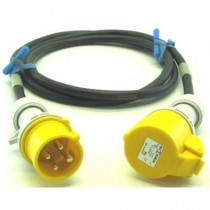 Prolongateur jaune 3P+T 10A  CEE17 20m