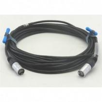 Câble Catégorie 6 équipé 2 RJ45 éthercon série D  catégorie 6  1m