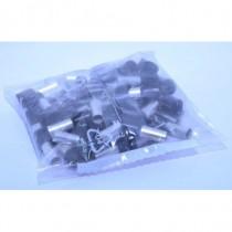Sachet de 50 embouts de câblage 25mm_ noir