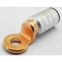 Cosse Bi métal à sertir cuivre aluminium 120mm_ trou de 12