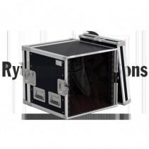 "Rack 19"" série lourde 10U Profondeur 550 Rythmes et son FRS6510"