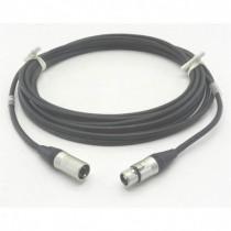 Câble DMX512 NOIR XLR5 1m