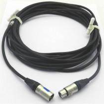 Câble micro XLR3M/F 6m