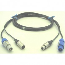 DMX POWER powercon + XLR5 3m